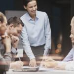 Réunion d'une négociation en entreprise